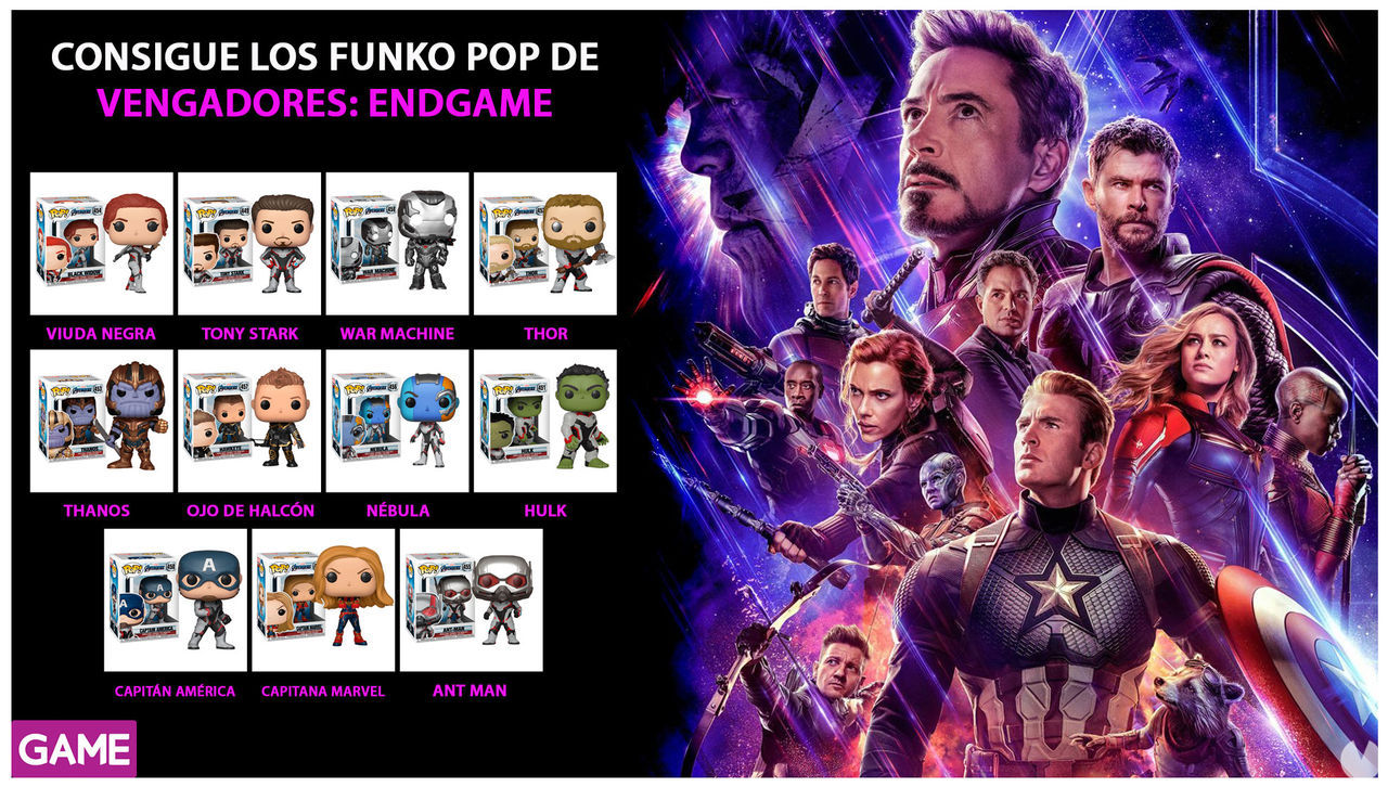 GAME prepares us for 'Avengers: Endgame' with a multitude of merchandising