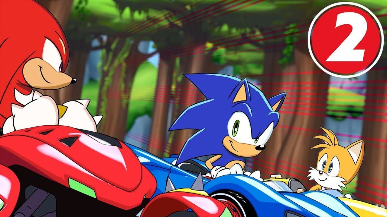 Second episode of Team Sonic Racing Overdrive, the animated series
