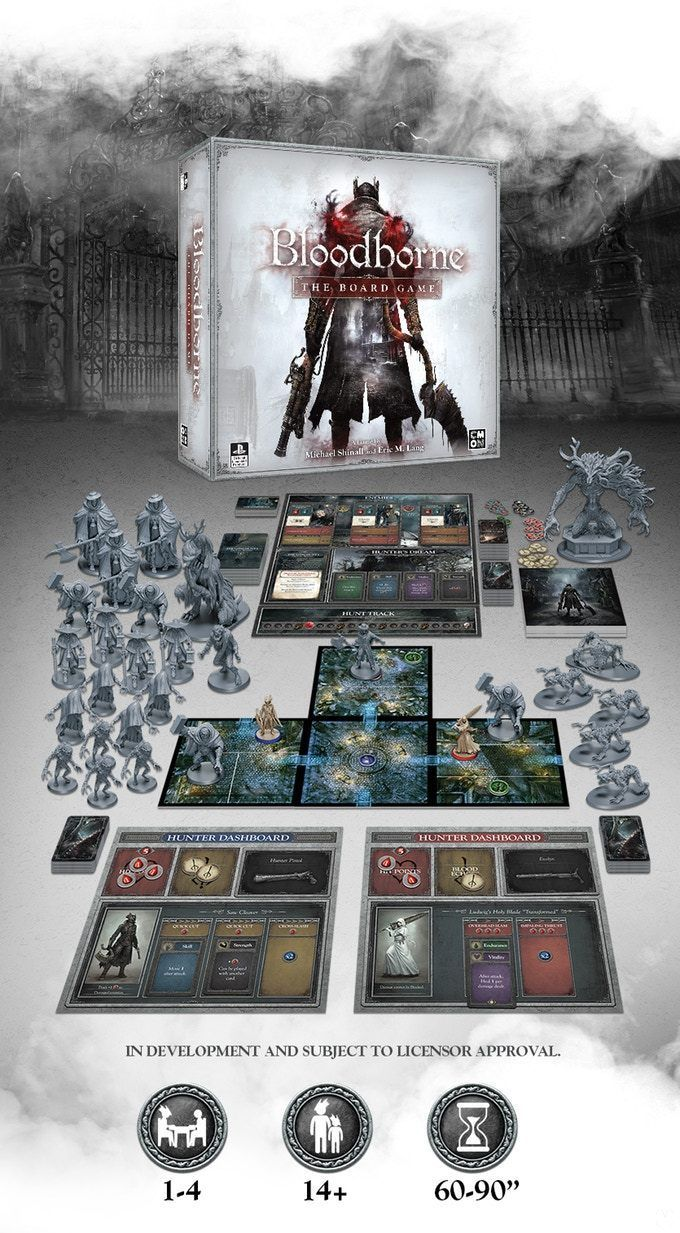 The board game Bloodborne gets its funding in minutes