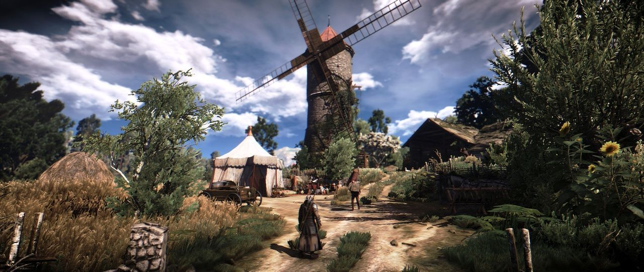 The Witcher 3 luce espectacular gracias al mod Black Unicorn