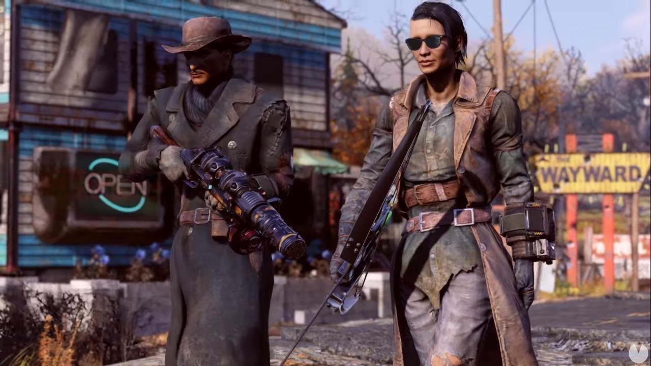 Fallout 76: Wastelanders se prepara para estrenarse el 14 de abril con este nuevo tráiler