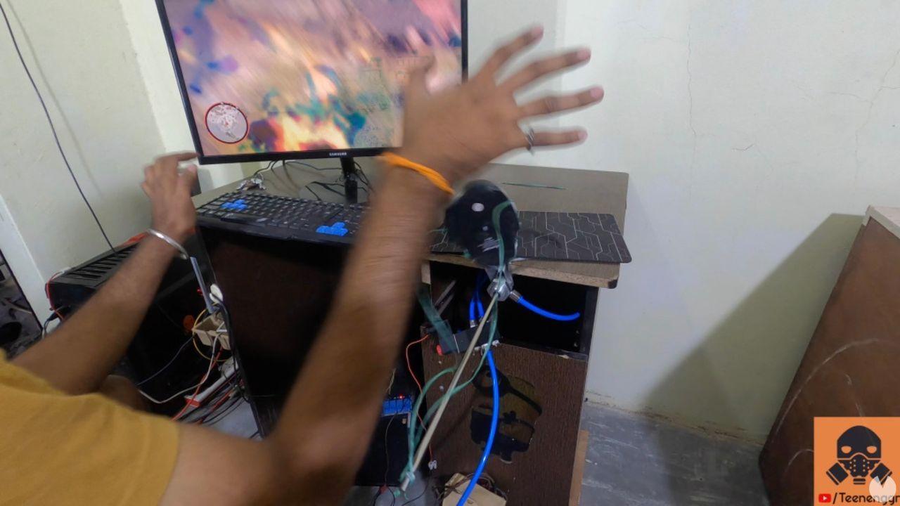 Crean un sistema para sentir el retroceso de un fusil de francotirador en los videojuegos
