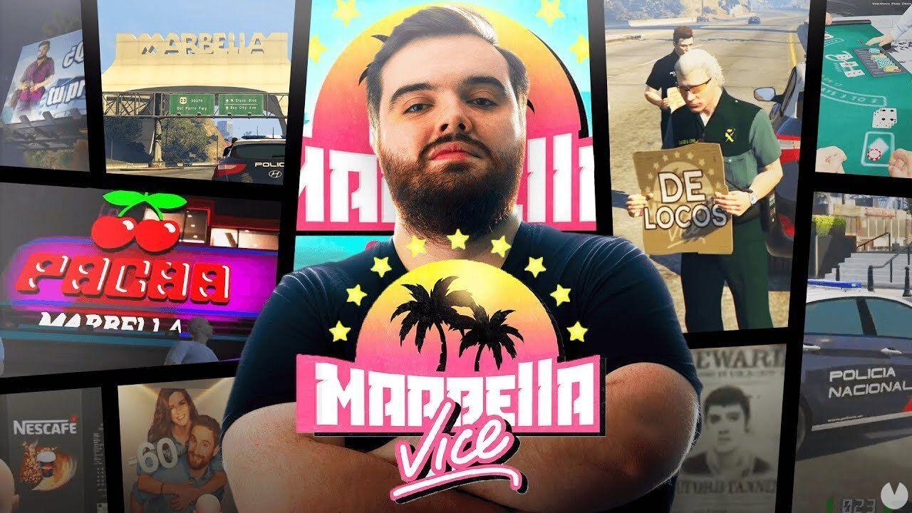 Ibai nos enseña la ciudad de Marbella Vice en su servidor de GTA Online -  Vandal