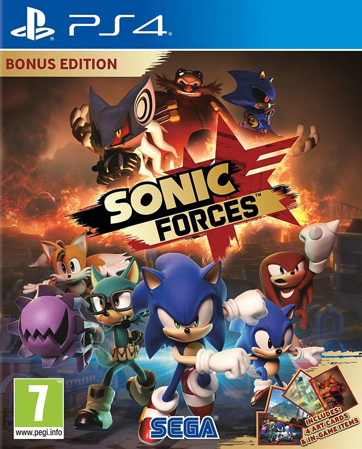 Sonic Forces Videojuego Ps4 Switch Xbox One Y Pc Vandal