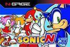 Carátula Sonic N para N-Gage