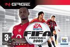 Carátula FIFA Football 2005 para N-Gage