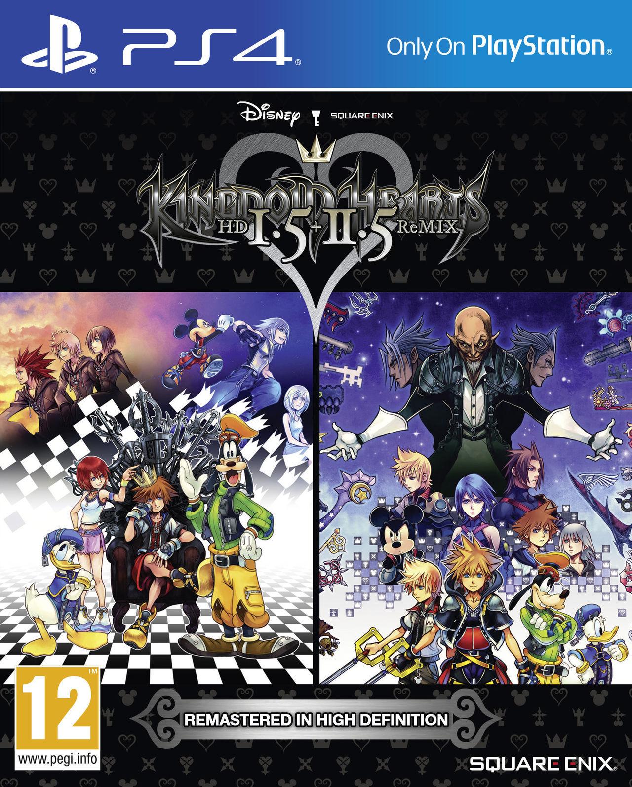 Kingdom Hearts Hd 1 5 2 5 Remix Toda La Informacion Ps4 Vandal