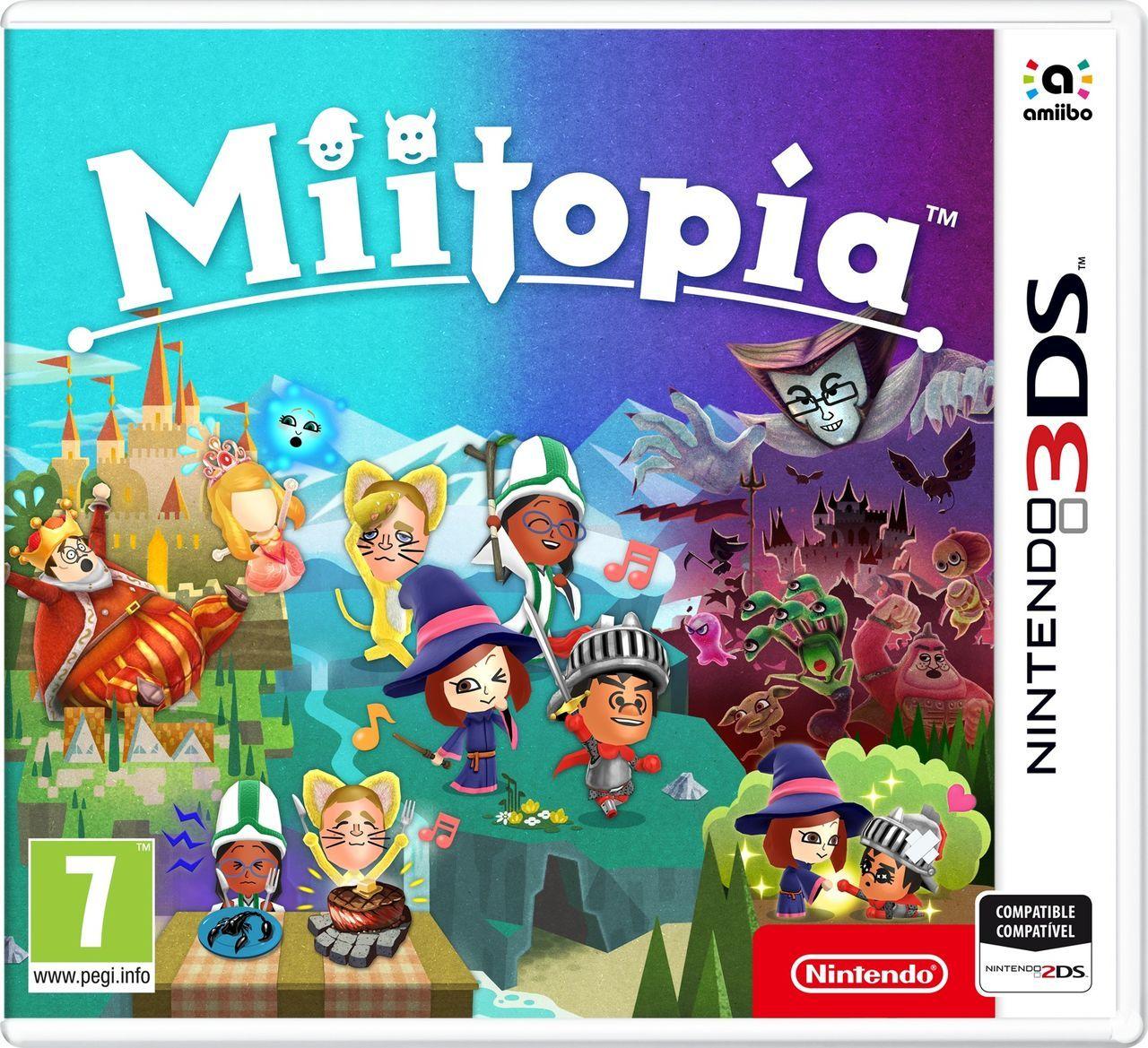 Miitopia - Videojuego (Nintendo 3DS) - Vandal