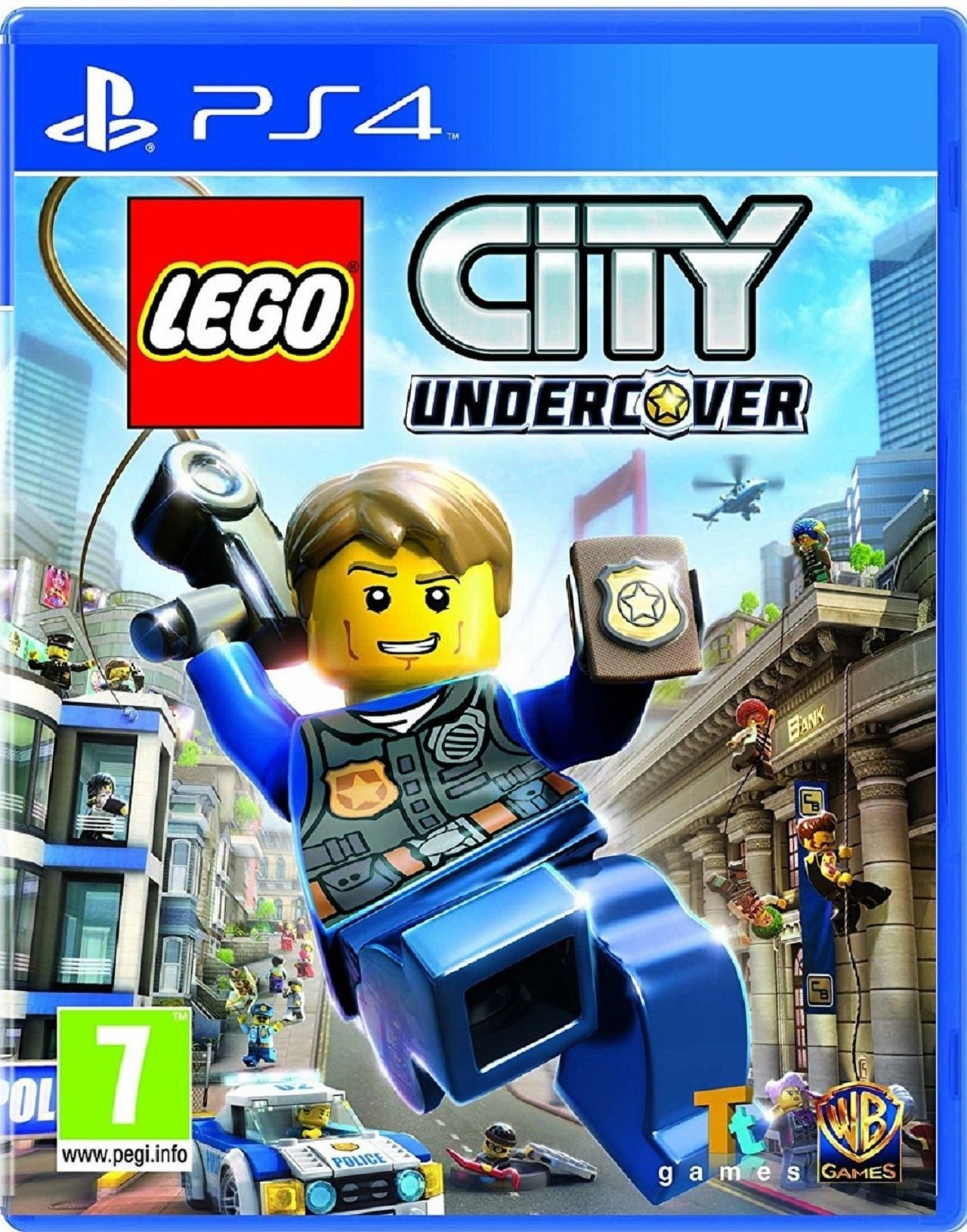 Lego City Undercover Toda La Informacion Ps4 Wii U Switch Pc