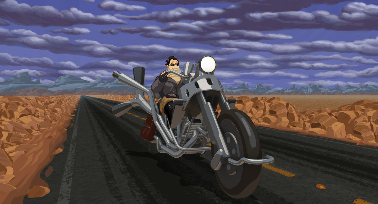 Full Throttle Remastered free on GOG for a limited time