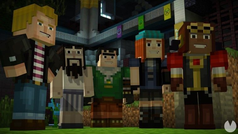 Minecraft Story Mode The Complete Adventure [Nswdeluxe net] [4 Gb