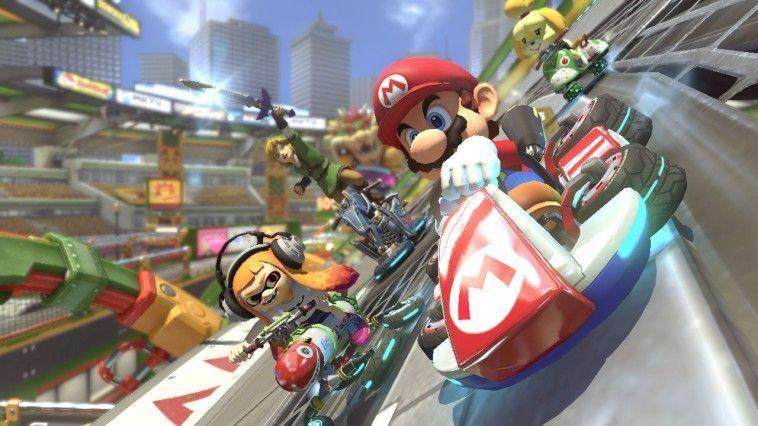 Mario Kart 8: Deluxe el más vendido de la semana