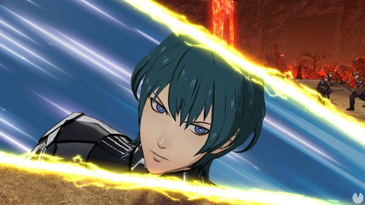 The new patch of Fire Emblem: Three Houses replaces the voice of the protagonist, Byleth