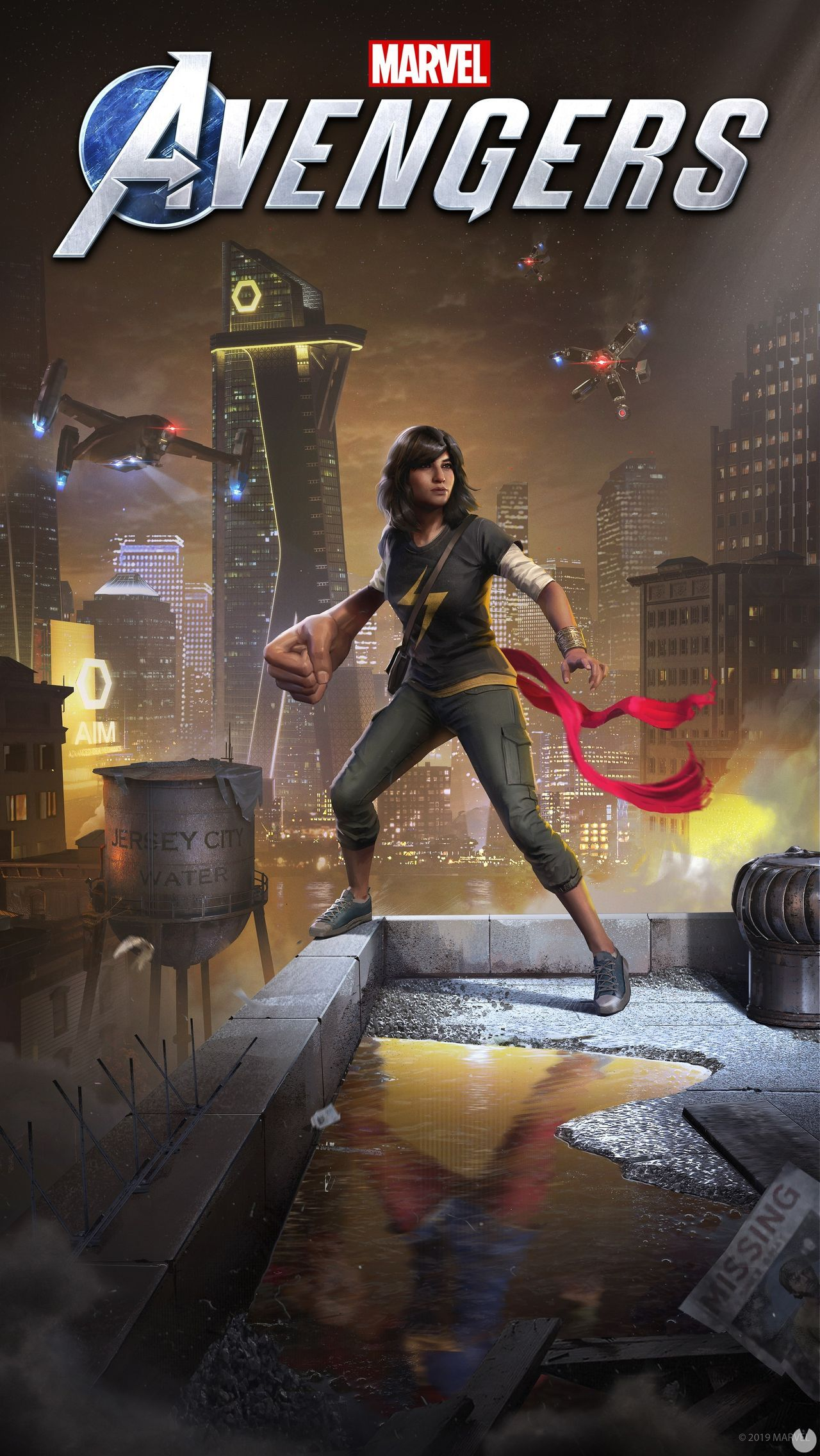 Marvel's Avengers confirms Kamala Khan and the sample in action in new trailer