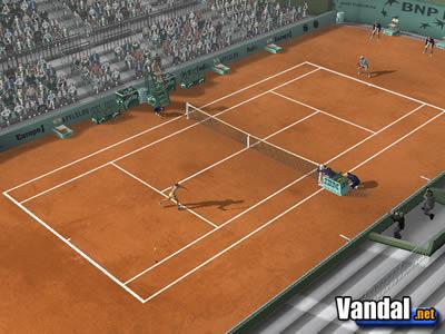 juego de tenis ps2: