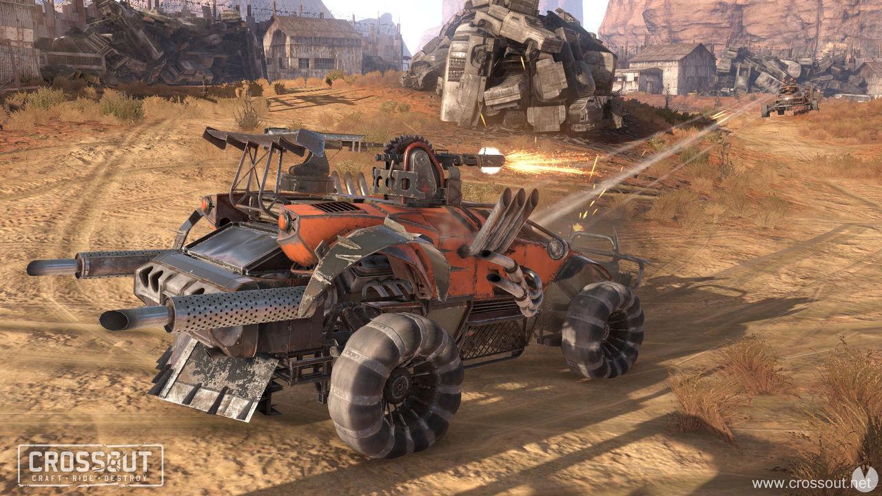 El modo aventura llega a Crossout en PS4 y Xbox One