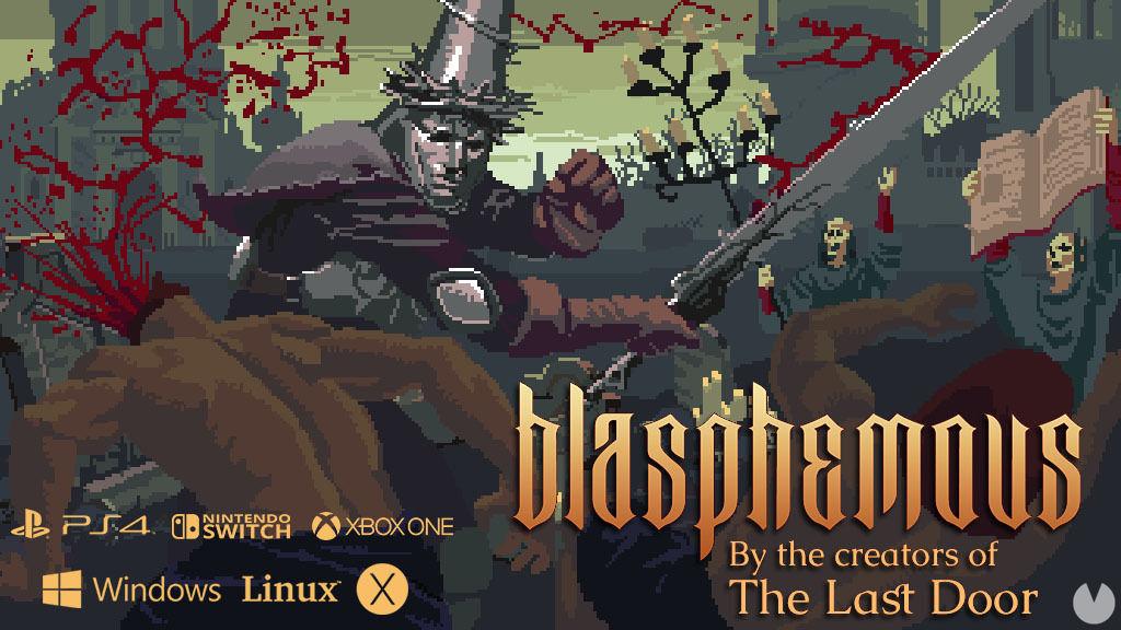Resultado de imagen de portada Blasphemous ps4