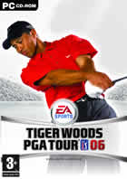 Car�tula oficial de de Tiger Woods PGA Tour 06 para PC