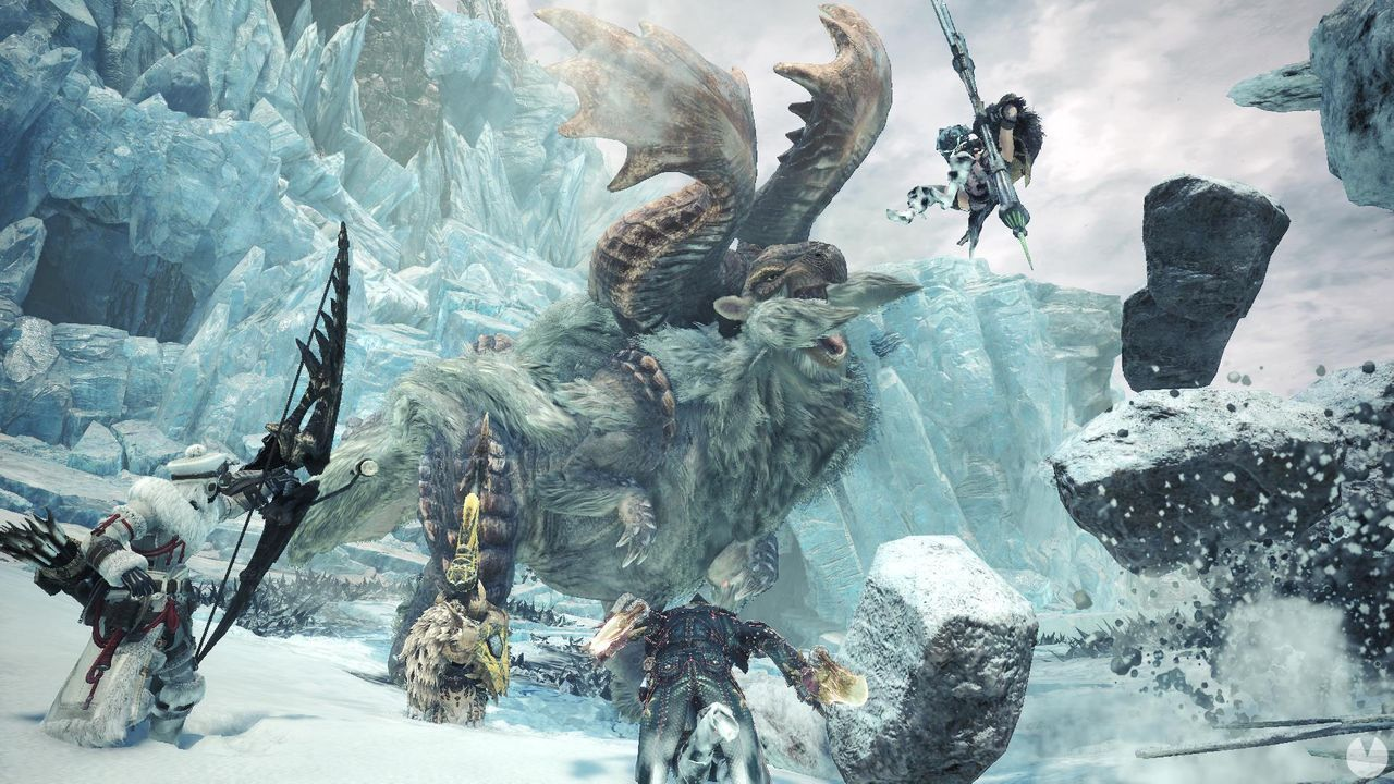 Monster Hunter World: Iceborne will have a beta this week for PS4