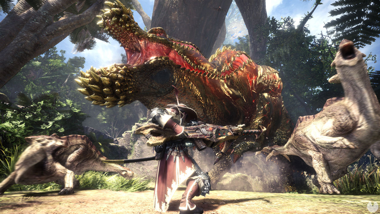 The PC is the second platform between the players of Monster Hunter World