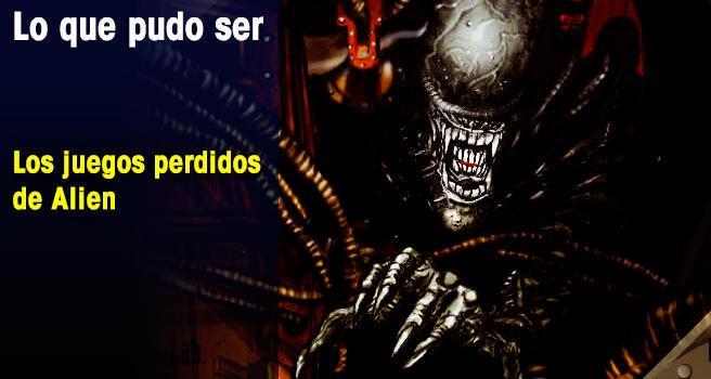 Los juegos perdidos de Alien