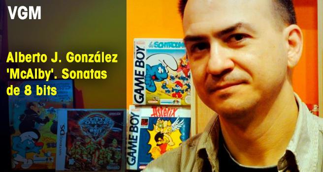 Alberto J. González 'McAlby'. Sonatas de 8 bits