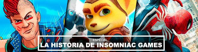 La historia de Insomniac Games: De Ratchet a Spider-Man