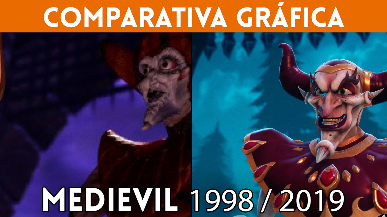 we Compare the remake of MediEvil for PS4 with its original version of 1998