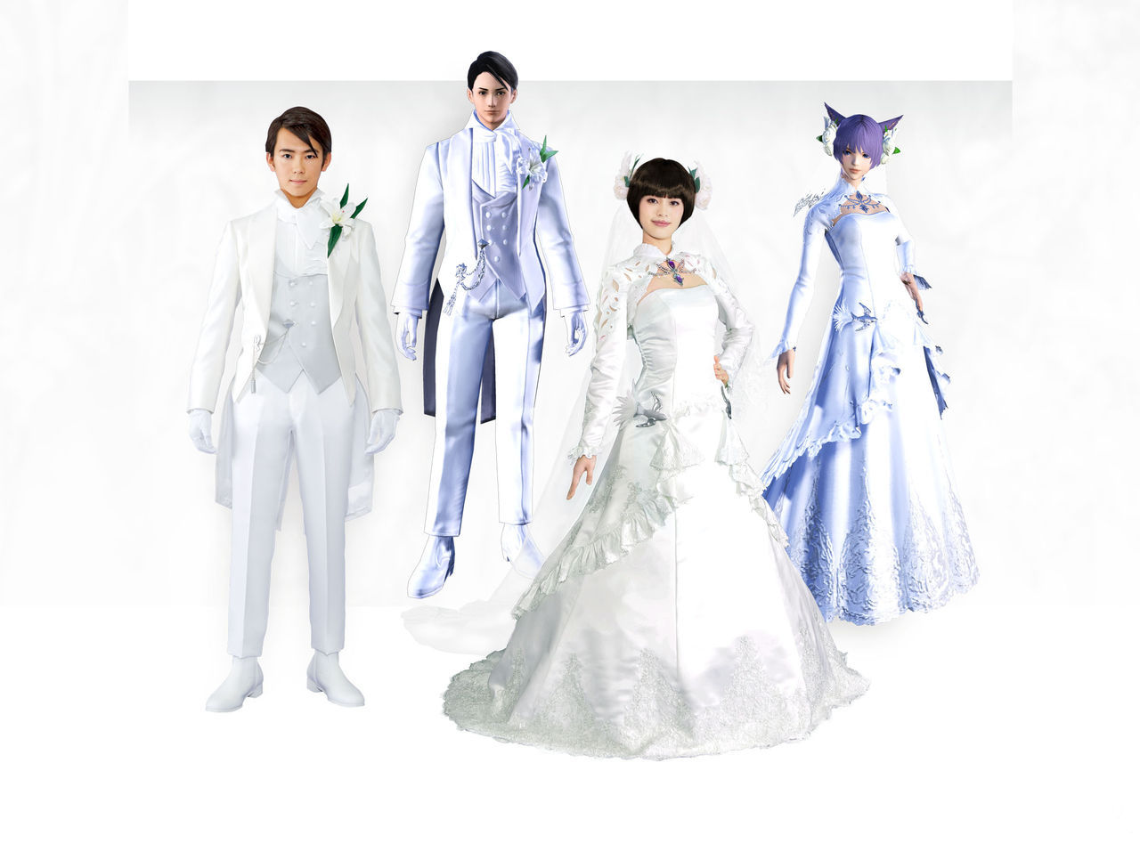 My great wedding geek: So they can get married the fans of Final Fantasy XIV in Japan