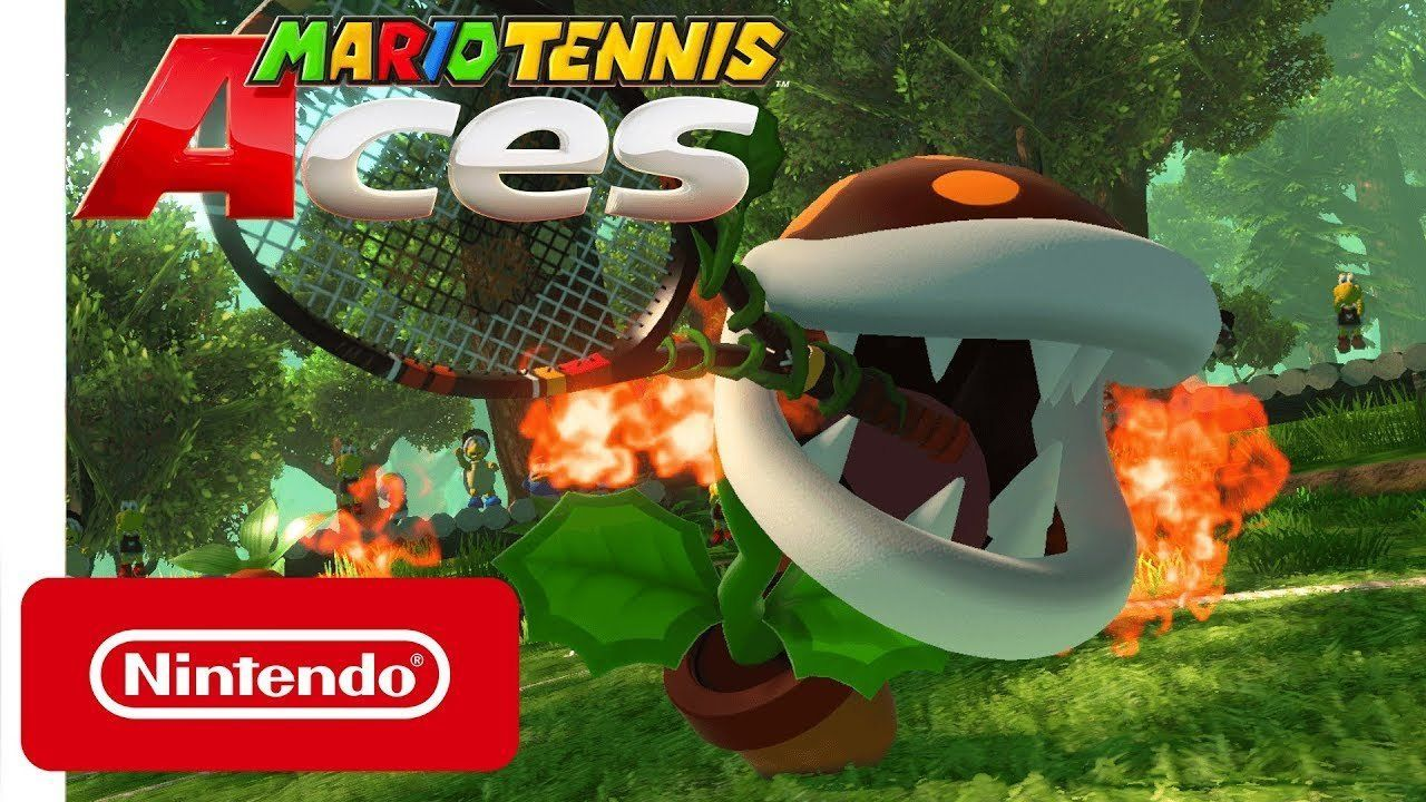 Mario Tennis Aces: The Plant Piranha is presented in a new trailer