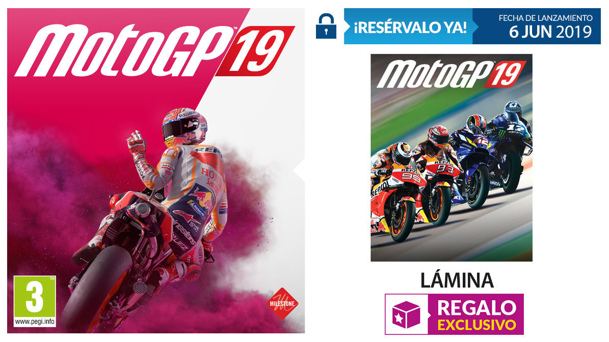 GAME details their incentives for the booking of MotoGP 19