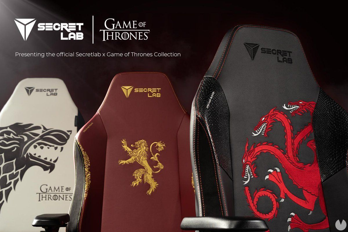 Game of Thrones comes to chairs for players SecretLab