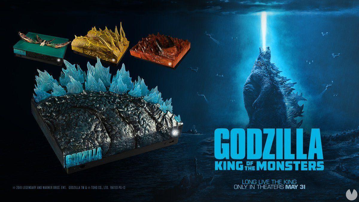 Microsoft can wrangle four Xbox One special X-Godzilla