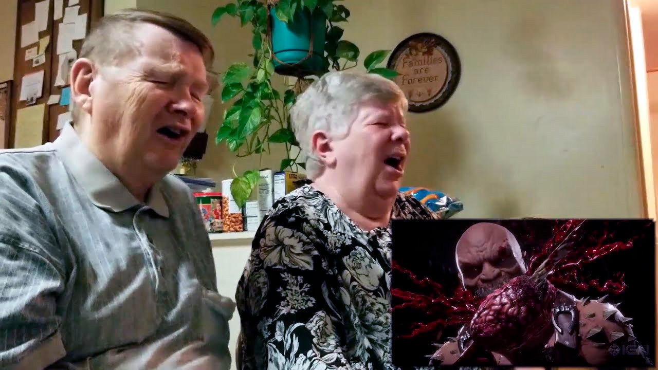 Mortal Kombat 11: A youtuber recorded the reaction of their parents with the Fatality