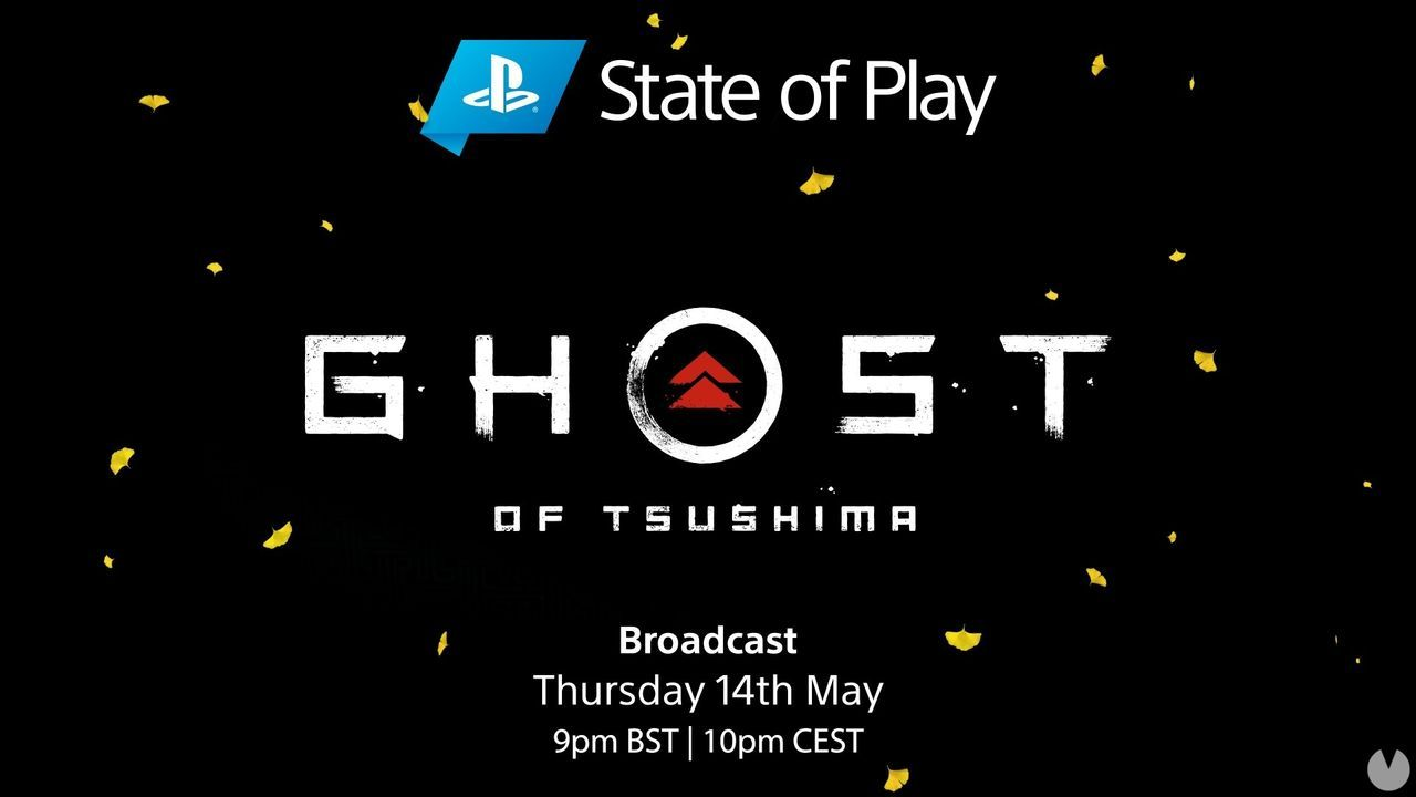 Ghost of Tsushima will have a State-of-Play own the may 14