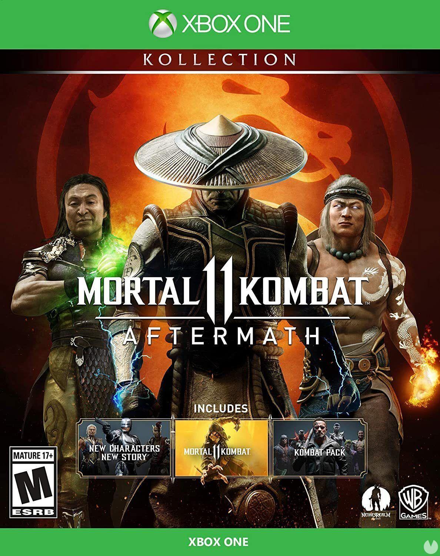 Le 16 juin, sera dans les bacs Mortal Kombat 11: Aftermath Kollection