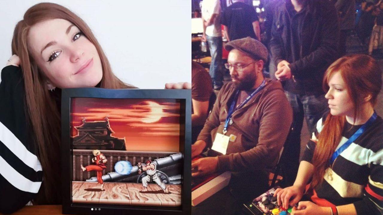 Nerea 'Nercromina' Díaz, exjugadora profesional de Street Fighter regresa a la competición