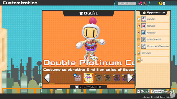 Super Bomberman R Online Double Platinum Cake