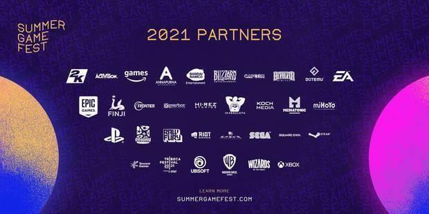 Compañías del Summer Game Fest 2021