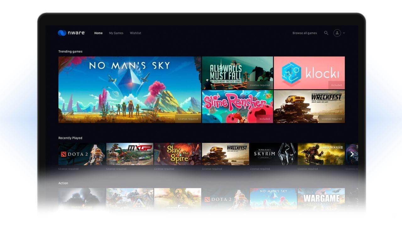 Nware, la plataforma de juego en la nube, ya es compatible con los juegos de Steam y Epic