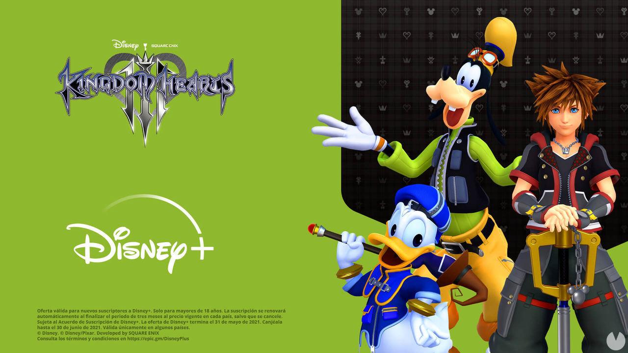Tres meses de Disney+ gratis con la compra de Kingdom Hearts 3.