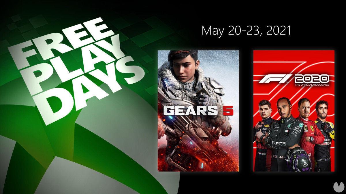 Free Play Days del 20 al 23 de mayo.