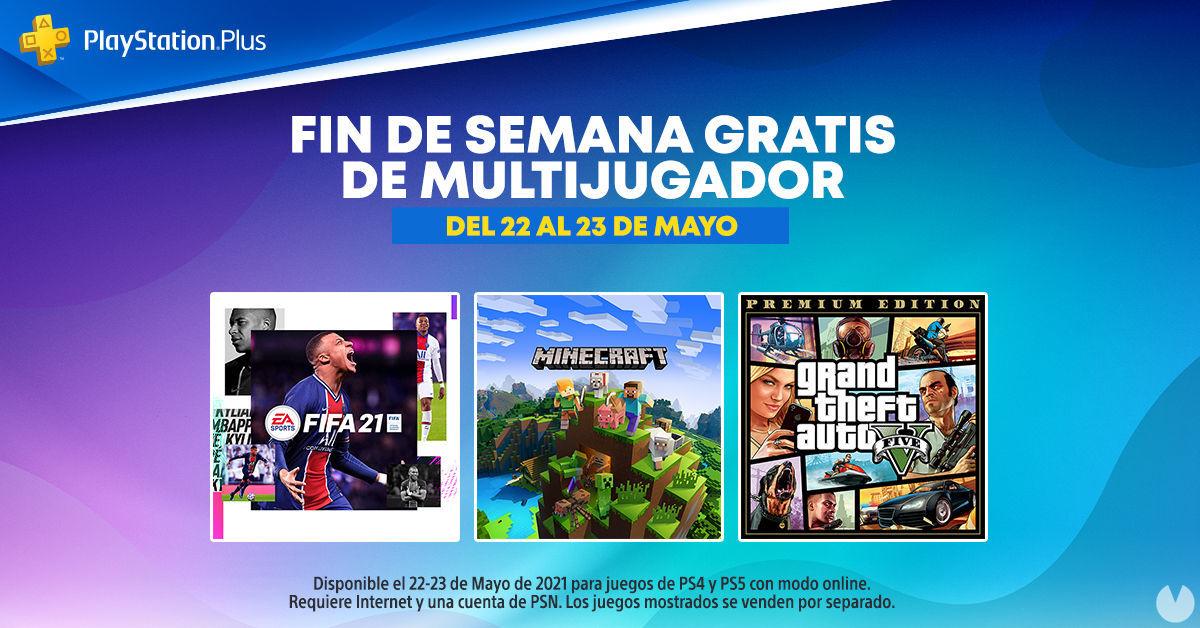 Fin de semana de PS Plus gratis en PS4 y PS5.