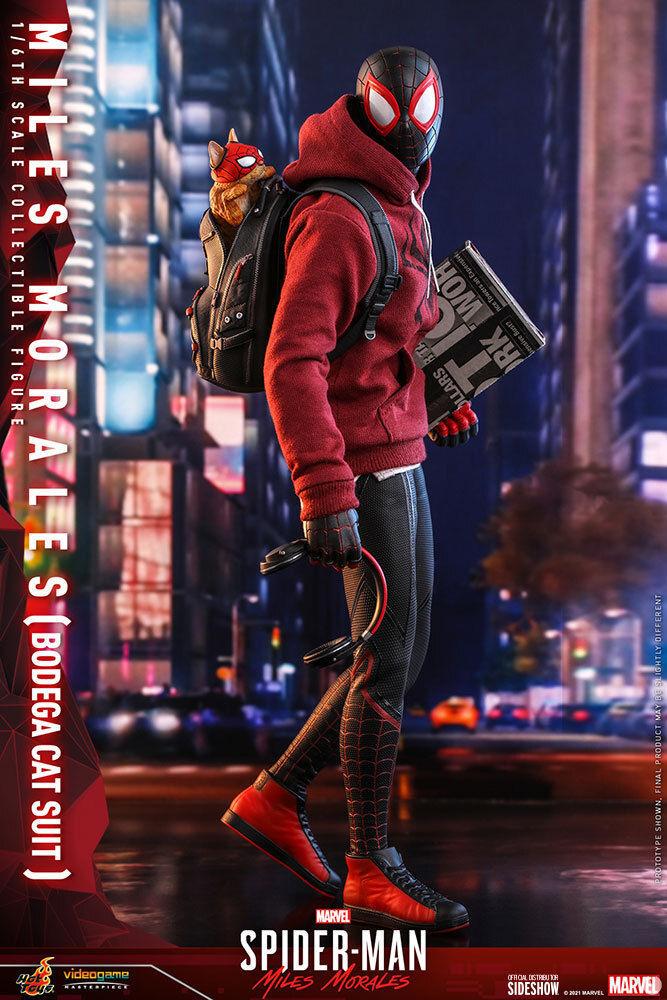 Una nueva figura de Spider-Man: Miles Morales nos muestra a Spider-Cat en acción