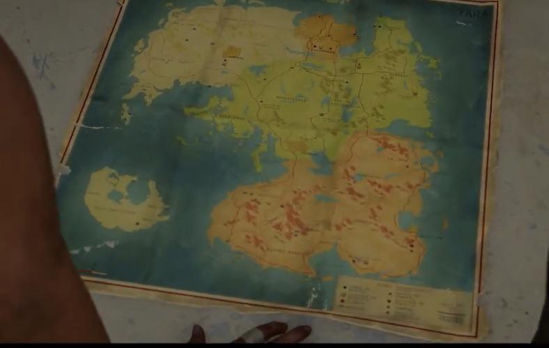 Far Cry 6 y su mapa