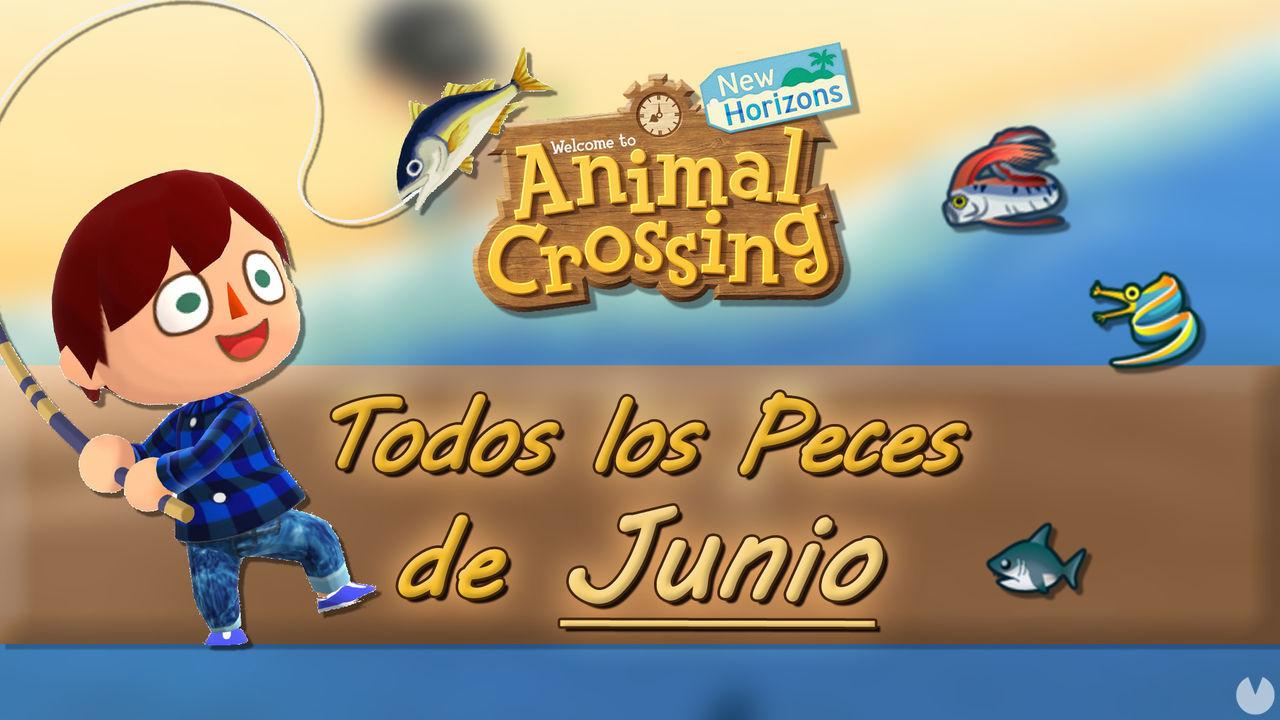 Animal Crossing New Horizons: todos los Peces disponibles en junio 2021
