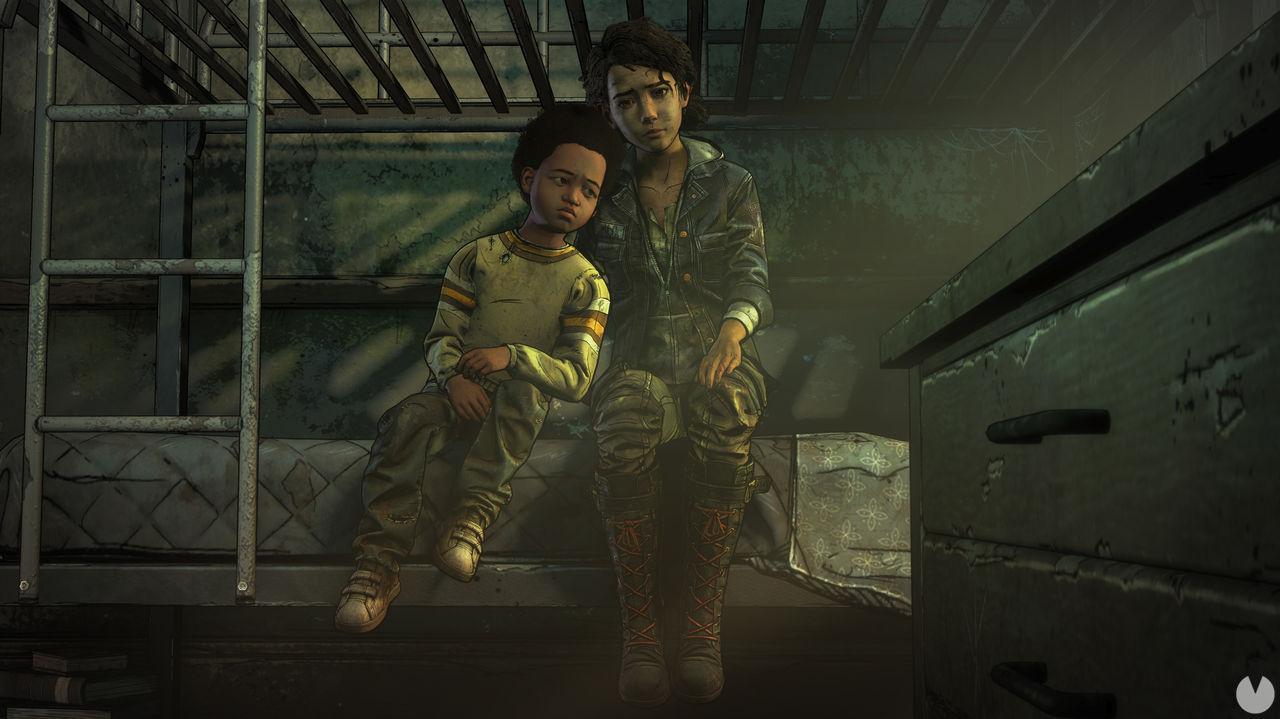 The Walking Dead Telltale ending in Epic Games Store