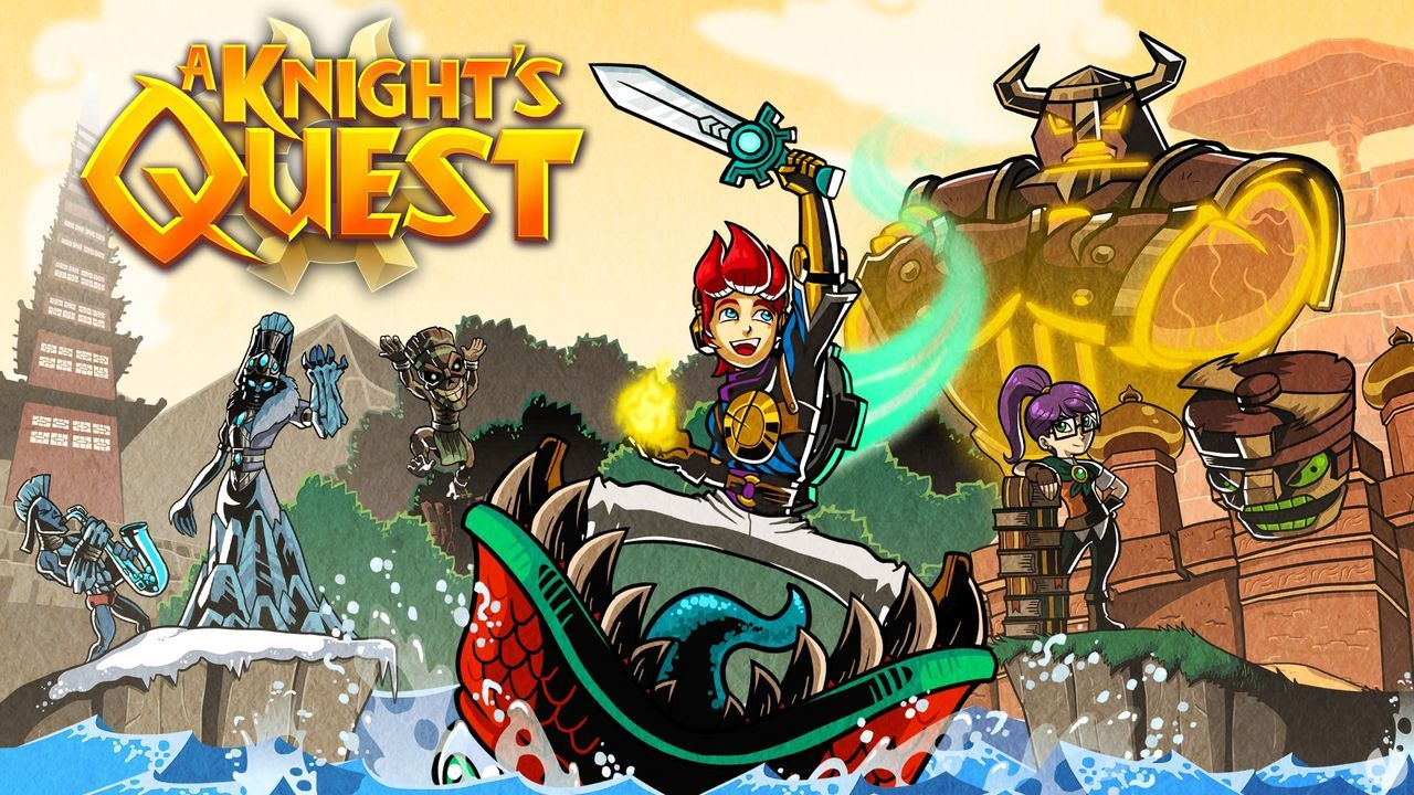The adventure Knight's Quest for Xbox One, PC, PS4 and Switch will arrive this fall