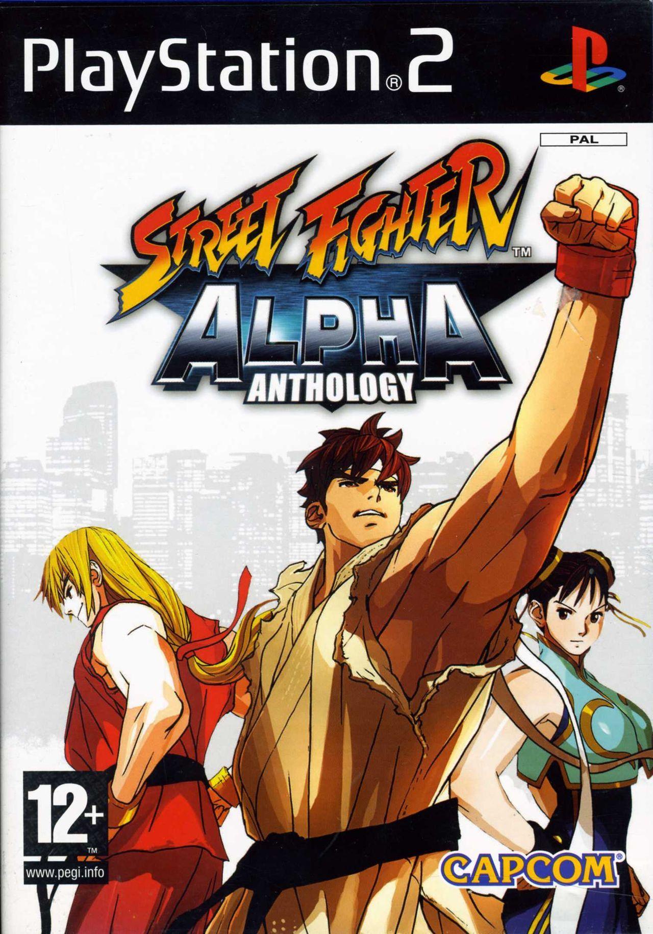 Street Fighter Alpha Anthology Videojuego Ps2 Vandal