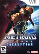 Car�tula oficial de de Metroid Prime 3: Corruption para Wii